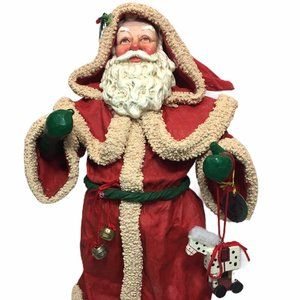 Clothique Victorian Santa Claus Possible Dreams 9""